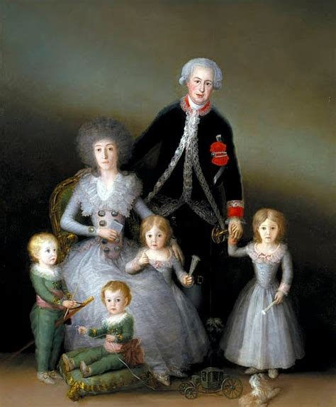 Francisco de Goya.: Retratos de familias.