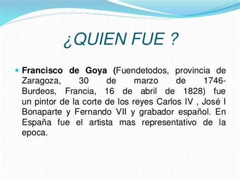 Francisco de la goya