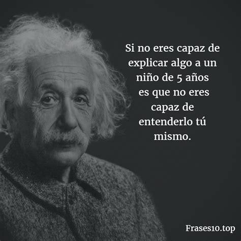 Frases de Albert EINSTEIN para pensar | Frases10.top
