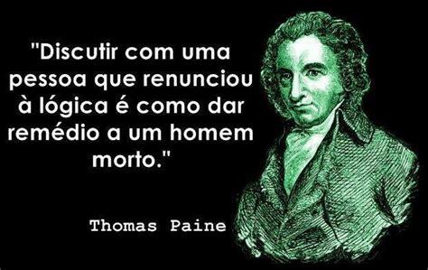 Frases Inteligentes: Frase inteligente de Thomas Paine