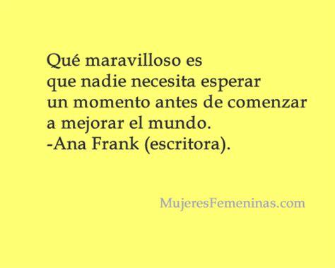 Frases notables del Diario de Ana Frank en imágenes ...