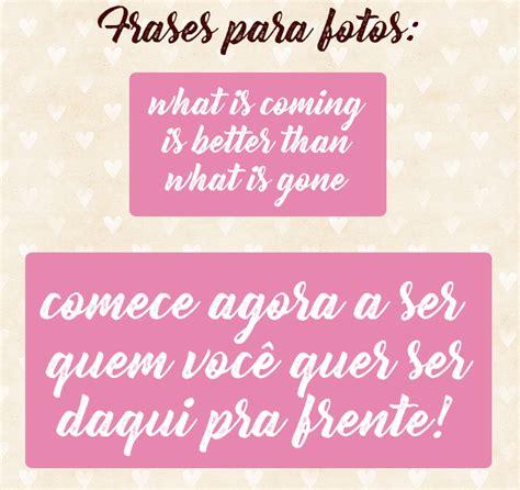 » Frases para fotos do instagram: dicas - blog Só Para Meninas