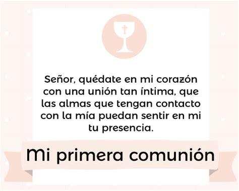 Frases y oraciones para Primera Comunión | Communion and ...