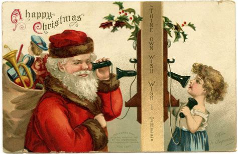 Free Christmas Desktop Wallpapers: Vintage Christmas ...