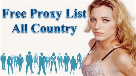 Free Proxy List   YouTube