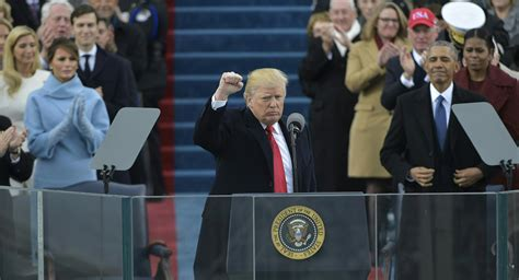 Full text: 2017 Donald Trump inauguration speech ...