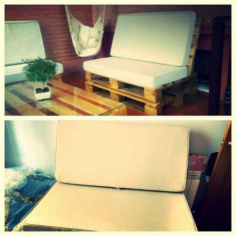 Fundas para cojines o colchones de sofá hecho con palets ...