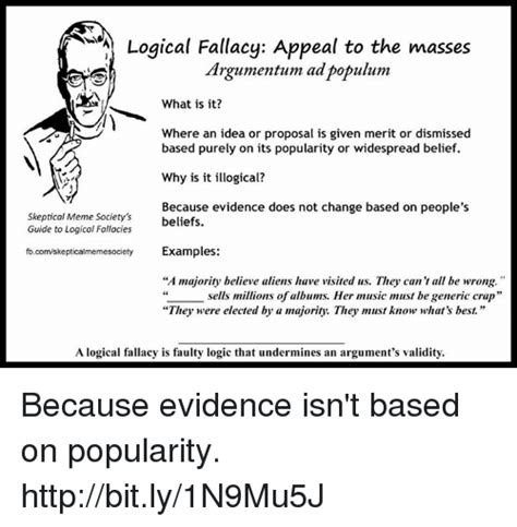 Funny Logical Fallacy Memes of 2017 on me.me | Undermined