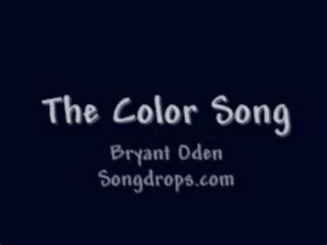 Funny Song: The Color Song   YouTube