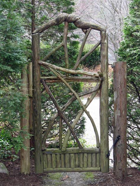 Garden Design Details: Rustic Wood Gates | Miss Rumphius ...