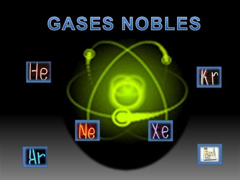 Gases: Gases Nobles