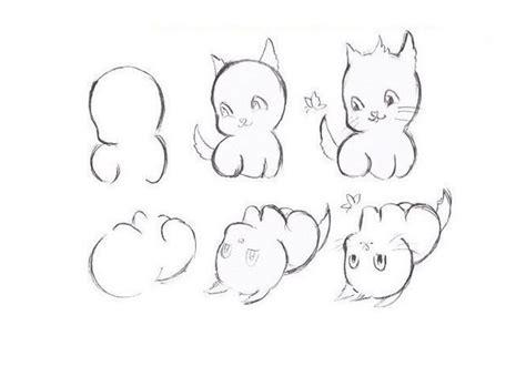 Gatos Para Dibujar A Lapiz Paso A Paso Facil