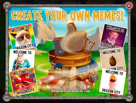 Generador De Memes | Amigos Para Dragon City