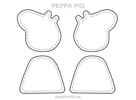 George y Peppa Pig de Goma Eva  con moldes para recortar ...
