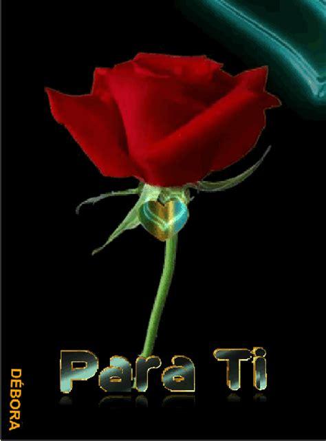 Gif Animados De Rosas Rojas Y Corazones