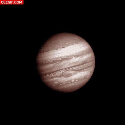 GIF: Imagen en movimiento de Júpiter  Gif #4604