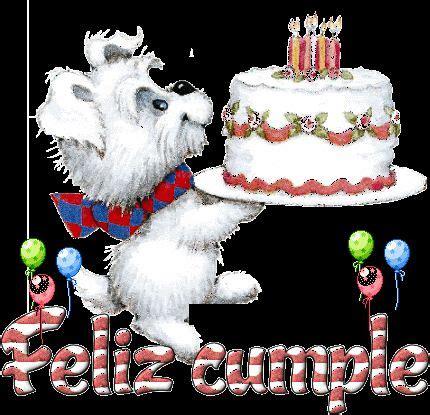 Gifs Animados de Tartas de Cumpleaños para Felicitar | Gifs