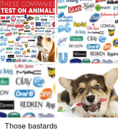 Gille THESE COMPANIES TEST ON ANIMALSGLAD La WICK AXE AVO ...