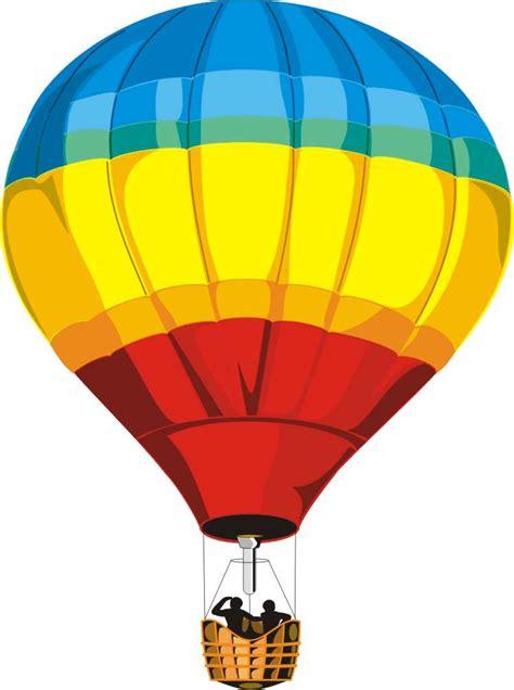 Globo aerostatico para colorear, pintar e imprimir