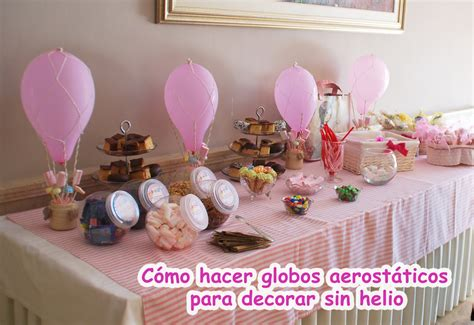 Globo aerostático para decorar fiestas, cumpleaños ...