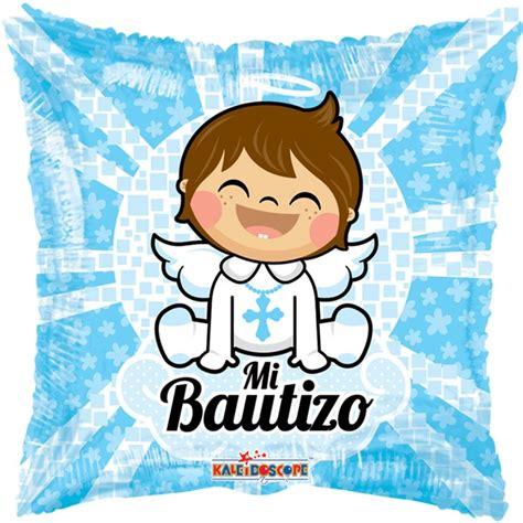 Globo Bautizo Niño 6 Pzas Medida 18 Pulgadas Para Helio ...
