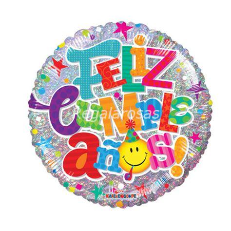 Globo con helio feliz cumpleaños   Regala Rosas a ...
