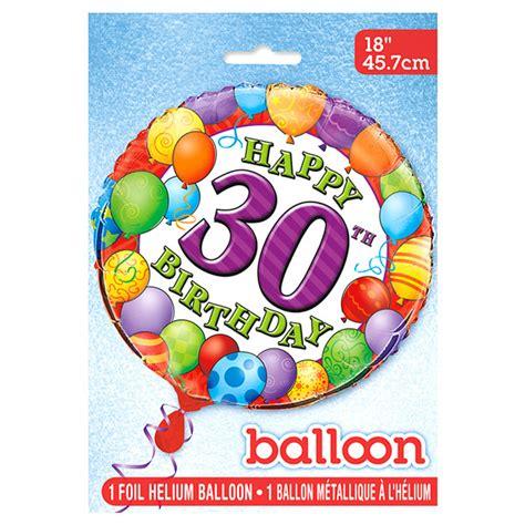 Globo de Foil 30 Cumpleaños 45 cm   Comprar Online {My ...