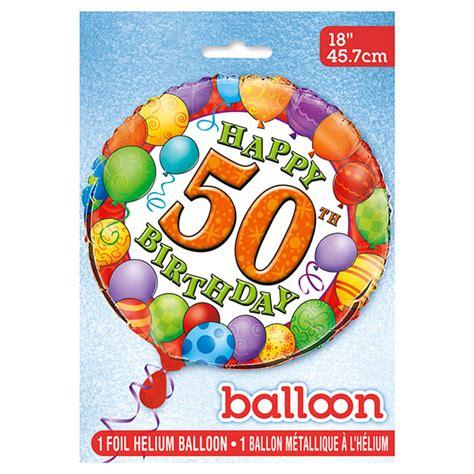 Globo de Foil 50 Cumpleaños 45 cm   Comprar Online {My ...