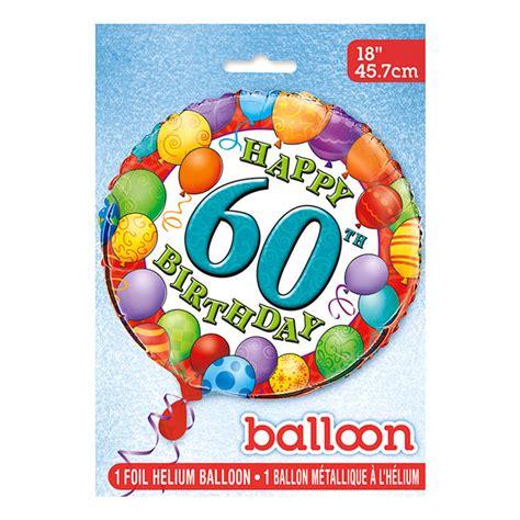 Globo de Foil 60 Cumpleaños 45 cm   Comprar Online {My ...