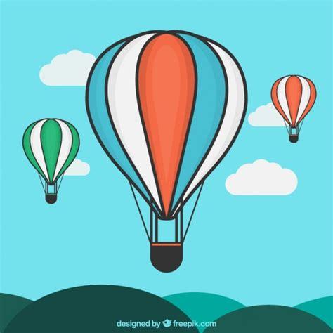 Globos aerostáticos ilustración | Descargar Vectores gratis