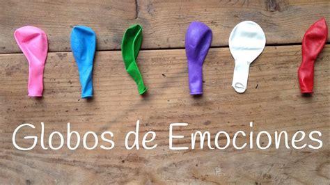 Globos de las emociones | Juegos educativos para niños ...