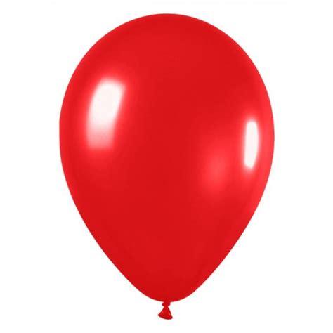 Globos de tamaño grande color rojo en bolsa de 100 un