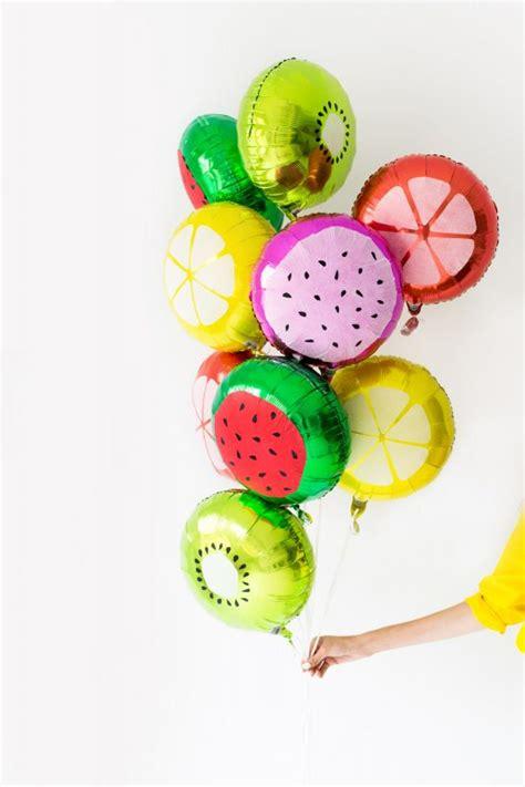 Globos Decorados en Forma de Frutas | Fiestas y Cumples