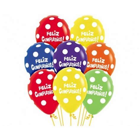 Globos feliz cumpleaños 12  30cm en globos con números ...