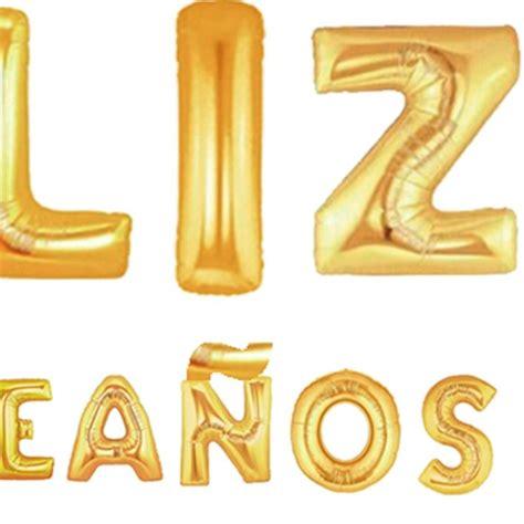 Globos Feliz Cumpleaños Grande Dorado Cotillon Fiestaclub ...