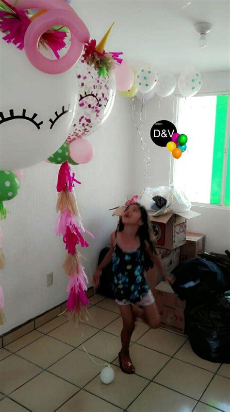 Globos Gigantes unicornio | Decoración con globos ...