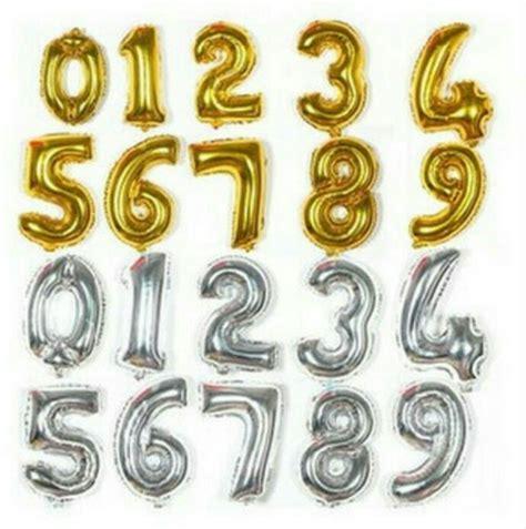 Globos Metalizados metalicos Numeros   Bs. 1.600,00 en ...