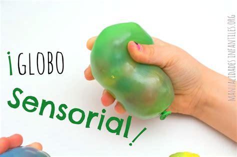 Globos sensoriales   Manualidades Infantiles
