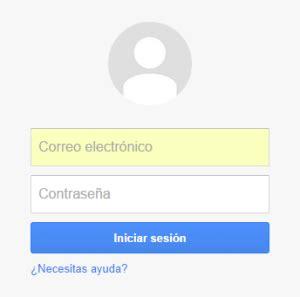 Gmail Iniciar Sesioon @ Correo Electronico de Google Mail