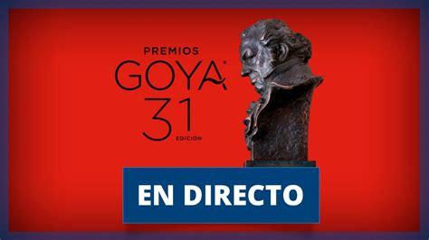 Goya 2017: Gala, premios y ganadores en directo