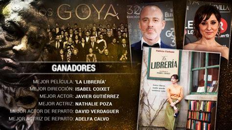 Goya 2018: Ganadores de los Premios Goya 2018