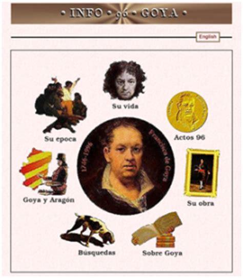 Goya llega a las aulas   TICS para educar