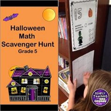 Grade 5 Move Around Math Scavenger Hunt: Fractions Bundle ...