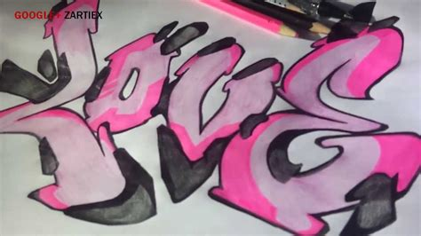 Graffiti A Lapiz De Amor Como Dibujar Un Graffiti De Amor ...