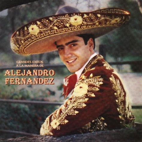 Grandes Exitos A La Manera De Alejandro Fernandez ...