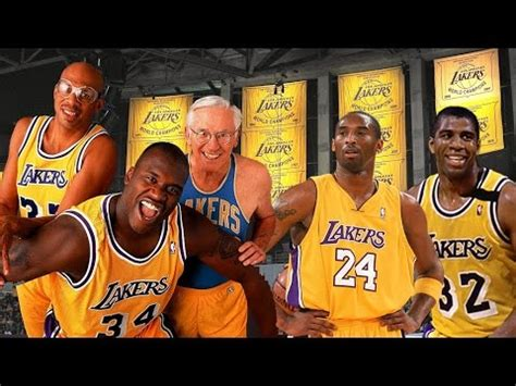 Greatest Lakers of All Time!   YouTube