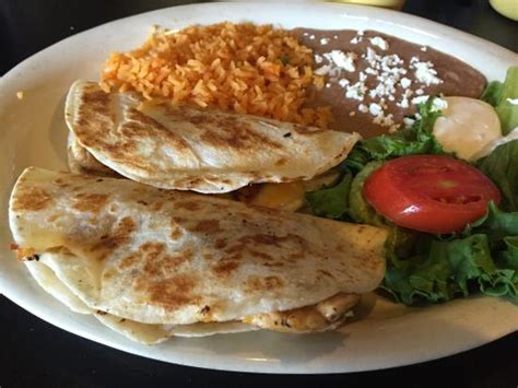 Grilled Chicken Quesadilla Plate   Picture of La Terraza ...