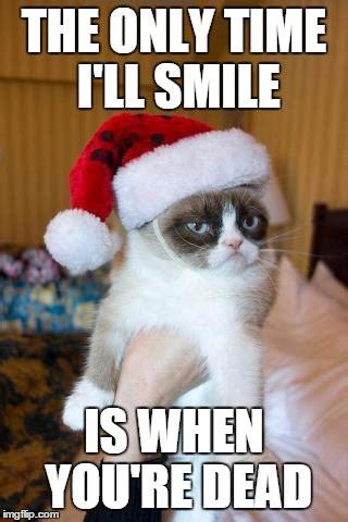 grumpy cat meme christmas