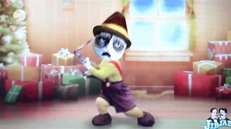 Grumpy Cat Tard rockin around the christmas tree   YouTube