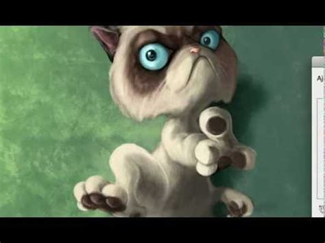Grumpy Cat.  The Touch of Death    YouTube